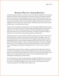 business plan template free word document download
