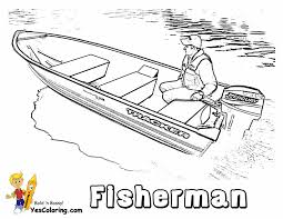 rugged boat coloring boats free ship coloring pages