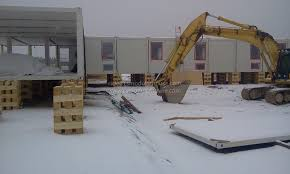 house project in cold weather