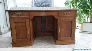 bureau stylé bureau style anglais avec 2 caissons et 2 tiroirs a vendre