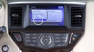nissan pathfinder youtube 2015 2015 nissan pathfinder voice guidance if so equipped youtube