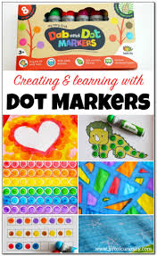 9 ideas for creating and learning with dot markers gift of curiosity