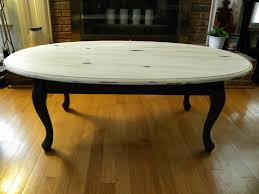 Painted Coffee Table Wonderful White Oval Traditional Wood Painted Coffee Tables Design