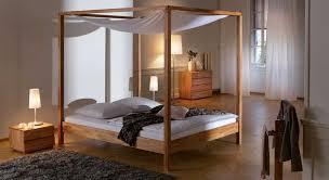 kernbuche schlafzimmer himmelbett holz haltbar und schöne möbel für das schlafzimmer