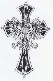 catholic cross tattoo ideas drawn tattoo cross pencil and in