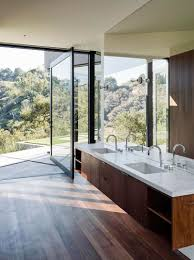 Outside Bathroom Ideas by Bathroom Mirror Ideas Fill The Whole Wall Contemporist