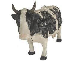 cow home and garden decor
