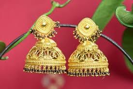buy jhumka earrings online buy heavy silver gold plated jhumka earrings online usa black