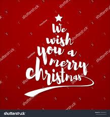 we wish you merry quote stock vector 754839535