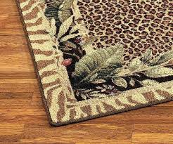 Leopard Print Runner Rug Animal Print Runner Rug Brilliant Leopard Runner Rug Best Images