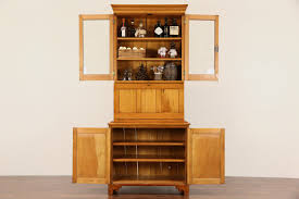 secretary desk with bookcase high end used furniture pulaski keepsakes golden oak secretary
