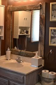 Wood Frames For Bathroom Mirrors - rustic wood bathroom mirror best bathroom decoration
