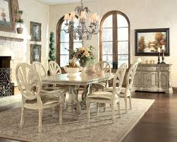 White Dining Room Furniture Sets Pedestal Dining Table Antique White Best Gallery Of Tables