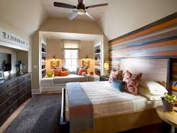 Accent Wall Bedroom Bedroom Accent Wall Wallpaper Creative Round Frame Wood Wall