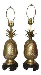 Pineapple Light Fixtures Frederick Cooper Brass Pineapple Lamps A Pair Chairish