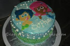 coolest bubble guppies cake for a 3 year old