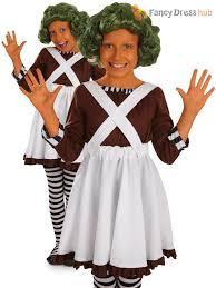 Oompa Loompa Halloween Costumes Kids Umpa Loompa Fancy Dress Costume Wonka Oompa Chocolate Factory