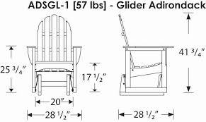 Armchair Glider Polywood Adsgl1 Adirondack Glider Chair Polywood Furniture