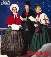 christmas carolers christmas carolers sewing pattern charles dickens caroler