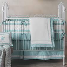 Aqua And Grey Crib Bedding Classic Aqua Lambs