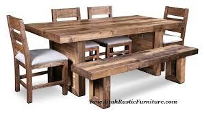 Real Wood Dining Room Furniture Bradley S Furniture Etc Utah Rustic Furniture And Mattresses