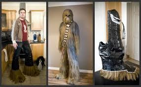 Chewbacca Halloween Costumes Star Wars Fan U0027s Incredible Homemade Chewbacca Costume Walyou
