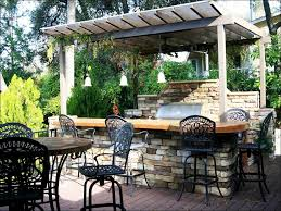 Covered Outdoor Grill Area by Kitchen Outdoor Kitchen Pergola Outside Kitchen Grill Outdoor