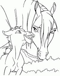 spirit horse coloring pages getcoloringpages