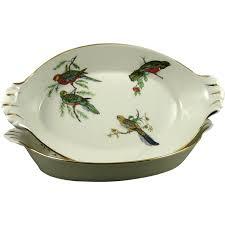 vintage pillivuyt porcelain au gratin dishes set of 2 from