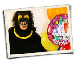 balloon delivery milwaukee character delivery service gorilla santa grim reaper and