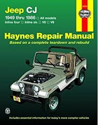 jeep repair manual chilton s jeep cj scrambler wrangler 1971 90 repair manual covers