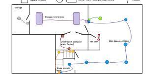 recent wiring a basement rental house and basement ideas