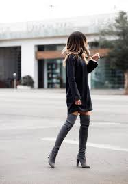 sweater dress and sweater dress cool ways to wear the sweater dress trend