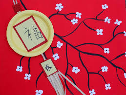 lunar new year lanterns dollar store craft new year paper plate lantern craft