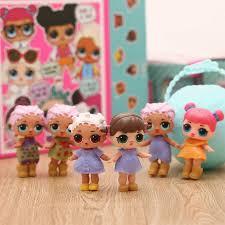 2017 lol surprise dolls barbies pvc girls pop anime figures