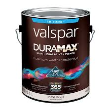 shop valspar duramax flat latex exterior paint actual net