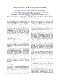 si e r ion rhone alpes motion planning for an all terrain autonomous vehicle pdf