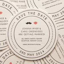 save the date coasters letterpress wedding stationery cheng