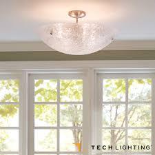 Flush Mount Ceiling Light Trace Semi Flushmount Ceiling Light Tech Lighting