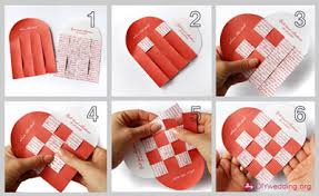 save the date ideas diy diy wedding heart save the date card