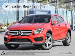 suv mercedes 2017 mercedes benz gla 250 4matic suv in london ontario at demo