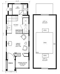 Tiny Home Floor Plans Free 18 Tiny House Floorplans The Marie Colvin Tiny House Floor
