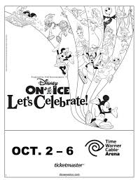 coloring pages of presents disney on ice presents let u0027s celebrate coloring sheet coloring
