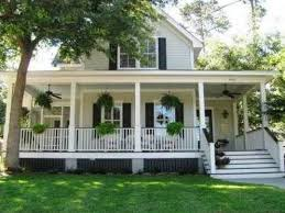 Wrap Around Porch by Country Style Homes Southern Style House With Wrap Around Porch