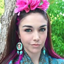 frida earrings frida kahlo gallery craftgawker