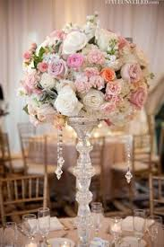 Wedding Centerpieces With Crystals by Best 25 Tall Centerpiece Ideas On Pinterest Tall Wedding