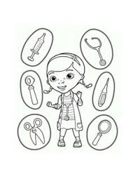 doctor mcstuffins coloring pages coloring pages
