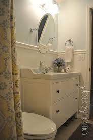 suburbs mama hallway bath reveal bathroom pinterest gray
