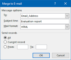 office 2013 mail merge mail merge with attachment msoutlook info