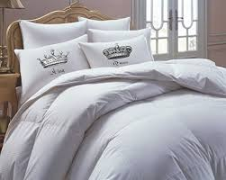 his and hers bed set his side side bedding